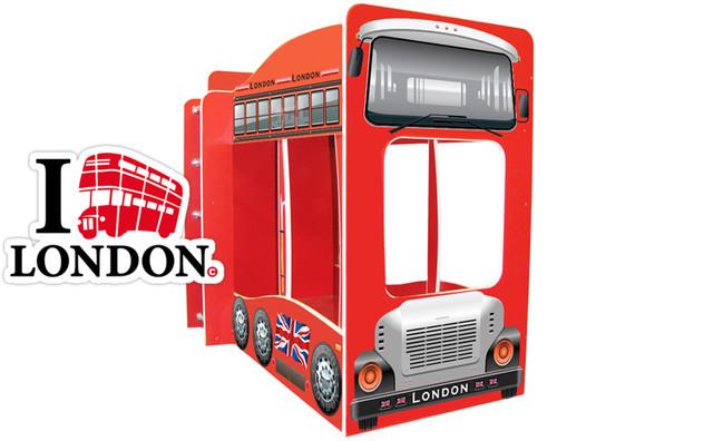 Кровать машина автобус лондон купить киев