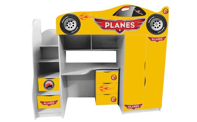 Кровать чердак Тачки Shock Cars купить киев