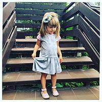 Нежное летнее трикотажное платье. Размеры: 86,92,98,104,110 см, фото 1