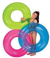 Надувной круг для плавания Intex 59260 синий
