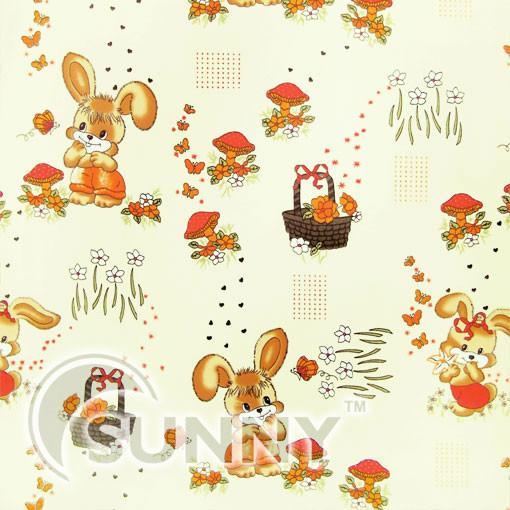Рулонная штора Rabbits