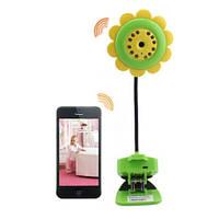 Видеоняня WiFi цветок SUN Flower V380, с двусторонней аудио связью и записью Android & IOs App