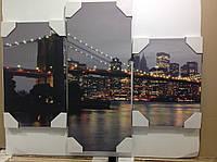 "Модульная картина ""Бруклинский мост"""