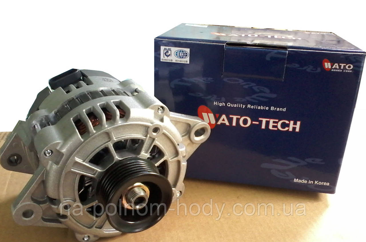 Генератор  Lacetti 1.6  12В 85А (Wato Tech) Южная Корея