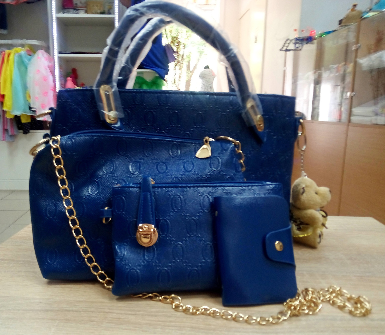 fa7105b0e208 Сумки, Женская модель 2016 года в сумки есть сумка на цепочки +косметичка +  картхолдэр