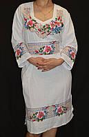 """Стильное платье на домотканом полотне """"Шипшина"""", 42-44 р-ры, 800\700 (цена за 1 шт. + 100 гр.)"""