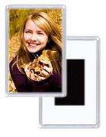 Магнит с фото, с логотипом