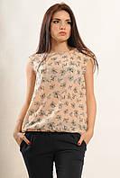 Модная и красивая летняя блуза с жатого шифона
