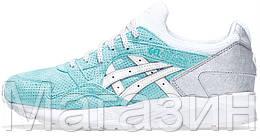 """Женские кроссовки Asics Gel Lyte 5 """"Diamond Blue"""" (в стиле Асикс Гель Лайт 5) голубые"""