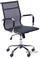 Кресло Слим-Net LB (мех. TL) (сетка черная)