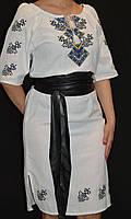 """Нарядное вышитое платье на домотканом полотне """"Берегиня"""" , 42-48 р-ры, 600\500 (цена за 1 шт. + 100 гр.)"""