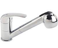 Смеситель для кухни с выдвижным душем Ferro Vasto BVA8