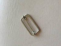 Рамка с перемычкой, ширина 30 мм, толщина 2,5 мм., цвет - никель, артикул СК 5043, фото 1