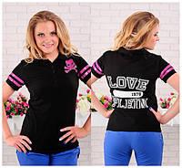Женская футболка лакоста