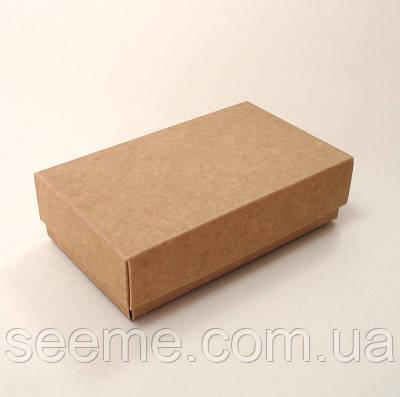 Коробка подарочная из крафт картона, 120x70x35 мм.