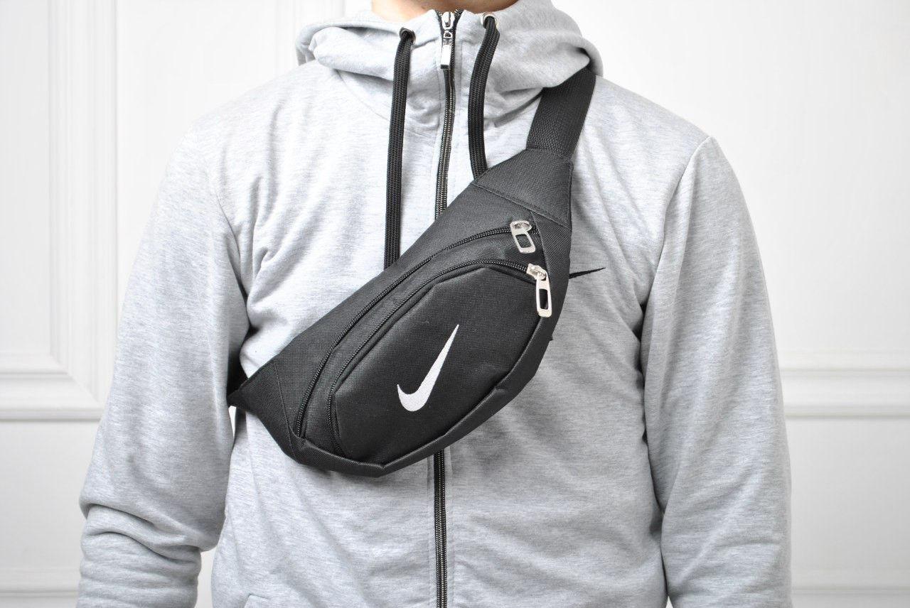 d00a955a4540 Барсетка мужская, сумка через плечо, на пояс, бананка, (черный), цена 149  грн., купить в Киеве — Prom.ua (ID#326646152)
