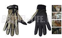 Перчатки военные ,тактические закрытыми пальцами 5.11 (р-р L, камуфляж Realtree)