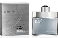 Мужская оригинальная туалетная вода Mont Blanc INDIVIDUEL, 50ml NNR ORGAP /05-91