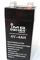 Аккумулятор 4V 4Ah. Свинцово-кислотные батареи.
