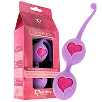 Шарики вагинальные со смещенным центром тяжести Feelz Toys Desi Love Balls Purple
