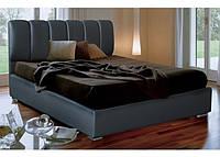 """Кровать из кожзама и ткани """"Олимп"""""""