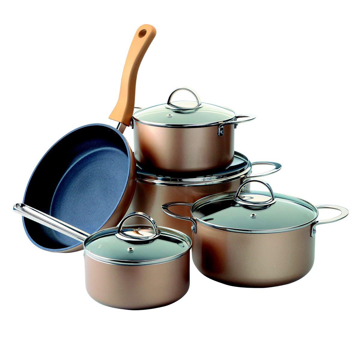 Набор посуды металлической с антипригарным покрытием