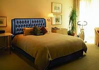 """Кровать """"Тиффани"""" с обивкой из ткани"""