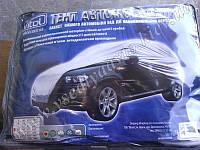 Тент на автомобиль JC13401 XL на джип/минивен серый с подкладкой PEVA+PP Cotton 483х195х145
