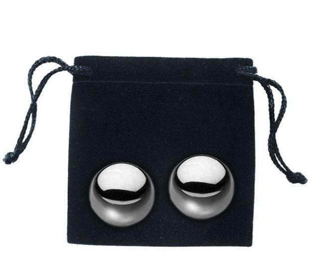 Металлические вагинальные шарики  - S&M Steele Balls