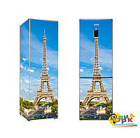 Наклейки на холодильник Париж