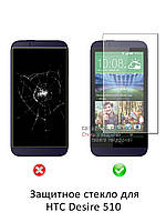 Защитное стекло для HTC Desire 510
