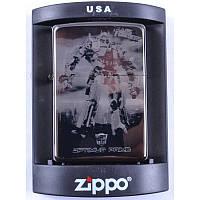 Зажигалка бензиновая Zippo OPTIMUS-PRIME №4226-2
