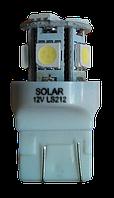 Автолампы светодиодные SOLAR Led лампа W21/5W 8SMD диода 2 шт.