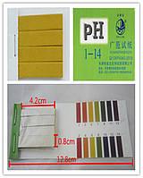 Лакмусовая бумага полоски 1-14 pH для определения уровня рН, тест 80 штук pH-тест,pH-метр,pH-измеритель