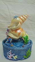 Фонтан настільний декоративний «Підводне царство» розмір 23*17*13