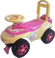 Толокар каталка автошка с музыкальным рулем!