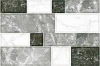 Плитка для стены InterCerama GRANI 230х350 серая светлая