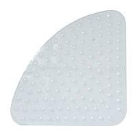 Коврик для ванной антискользящий треугольный прозрачный AWD02091034