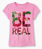 Брендовая футболка для девочки р.134/140 (2043299)