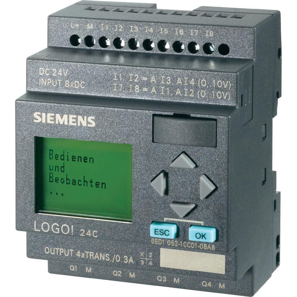 Логический модуль SIEMENS  LOGO! 24C