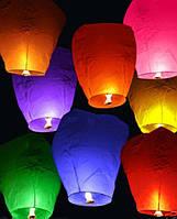 Небесный фонарик купол c надписью6 цветов 400 м 30 мин