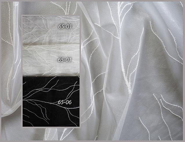 Органза с вышивкой тонкие ветви