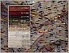 Органза со строчкой и микрочастичками бархата (цветная и однотон)