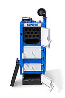 Котёл Буржуй DELUX 24 (автоматика и вентилятор в комплекте)