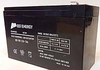 Аккумулятор 12V 7Ah. аккумуляторы общего назначения,  Свинцово кислотный аккумулятор на 12V/7Ah