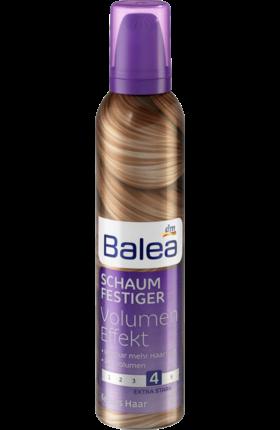 Пена для волос Balea Volumen - Effect-4