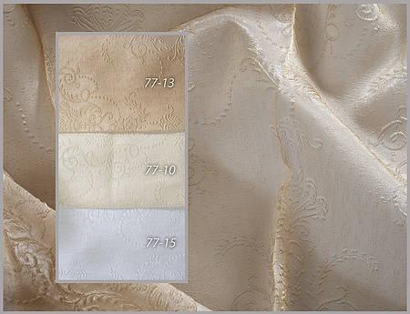 Портьерная ткань с узором. Код: 77