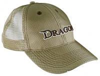 Кепка Бейсболка хаки с сеткой Dragon