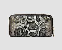 Лаковый женский кошелек 0038/3 серый