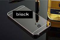 Бампер для Meizu MX5+зеркальная задняя крышка